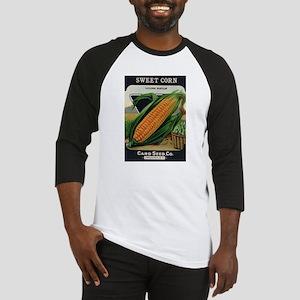 Yellow Corn antique seed pack Baseball Jersey