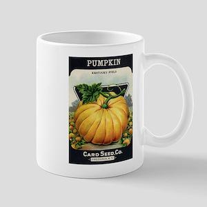 Pumpkin antique seed packet Mug