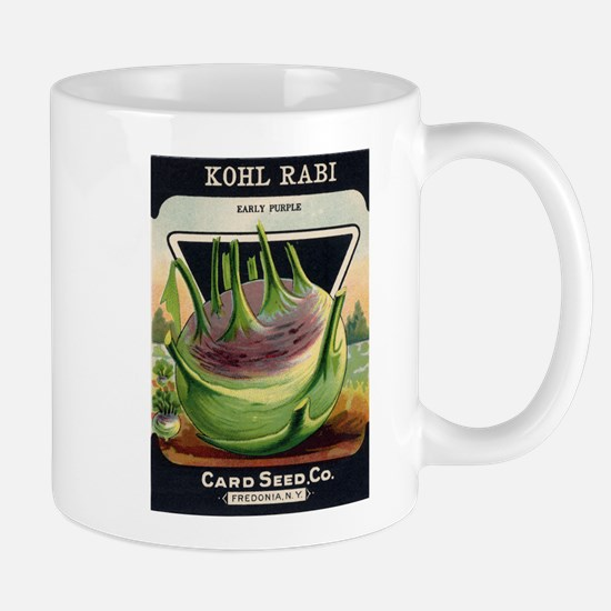 Kohl Rabi antique seed packet Mug