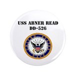 "USS ABNER READ 3.5"" Button"