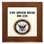 USS ABNER READ Framed Tile