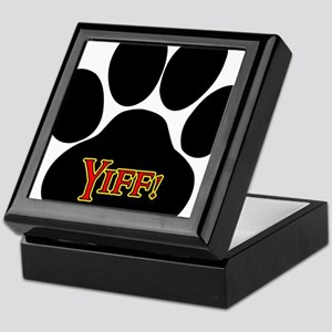 Yiff Furry Keepsake Box