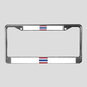 Flag of Thailand 4 License Plate Frame