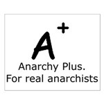 Anarchy Plus Small Poster
