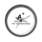 Anarchy Plus Wall Clock
