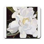 White Gardenia Mousepad