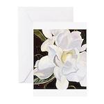 Garden Society Gardenia Cards (Pk of 10)