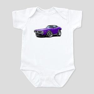 Charger Purple Opera Top Infant Bodysuit