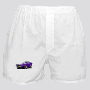Charger Purple Opera Top Boxer Shorts