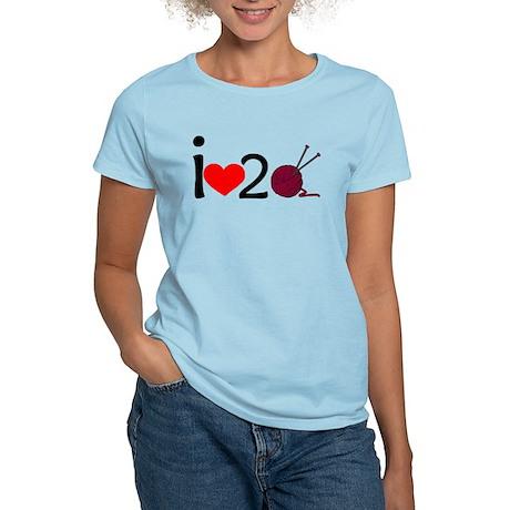 i heart 2 knit Women's Light T-Shirt