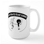 Ninja Pirate Peace Summit Large Mug