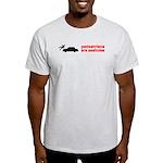 Pedestrains Are Assholes Light T-Shirt