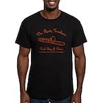 Rusty Trombone Men's Fitted T-Shirt (dark)
