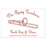 Rusty Trombone Large Poster