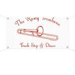 Rusty Trombone Banner