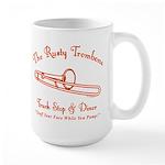 Rusty Trombone Large Mug