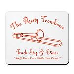 Rusty Trombone Mousepad