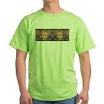African art Green T-Shirt