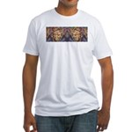 African art Fitted T-Shirt