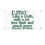 Emo: Like a Goth Banner