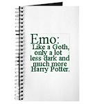 Emo: Like a Goth Journal