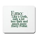 Emo: Like a Goth Mousepad