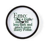 Emo: Like a Goth Wall Clock