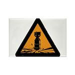 Bomb Rectangle Magnet (100 pack)