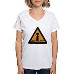 Bomb Women's V-Neck T-Shirt