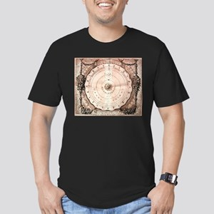 Medieval Astronomy Men's Fitted T-Shirt (dark)