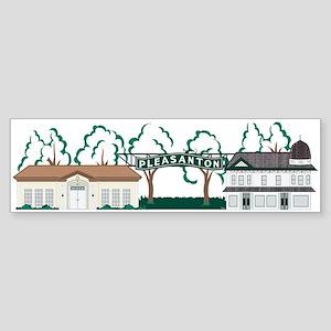 Downtown Pleasanton Sticker (Bumper)