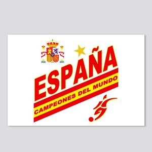 Spain World cup champions Postcards (Package of 8)