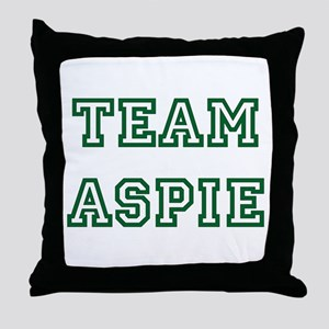 Team Aspie Throw Pillow