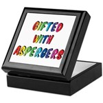 Gifted with Aspergers Keepsake Box