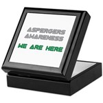 Asperger Awareness Keepsake Box