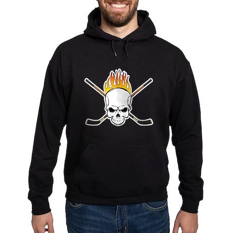 Skull Hockey Hoodie (dark)
