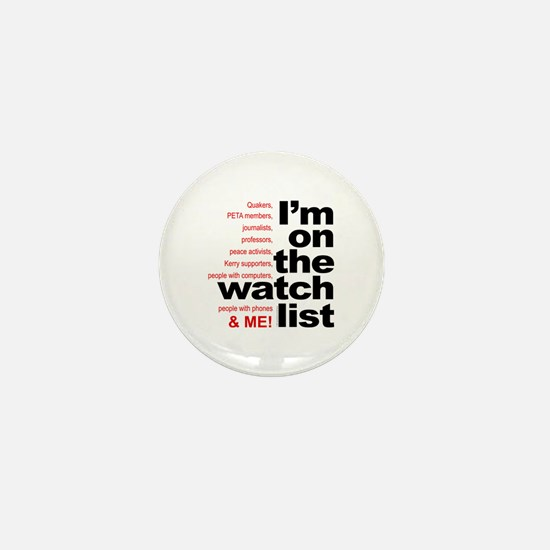 On watch list Mini Button