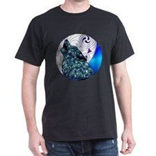 Celtic Wolf Dark T-Shirt