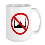 No Mosque Large Mug
