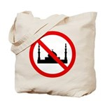 No Mosque Tote Bag