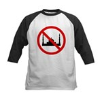 No Mosque Kids Baseball Jersey