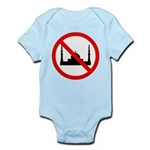 No Mosque Infant Bodysuit