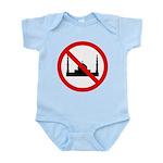 No Mosque Infant Bodysuit
