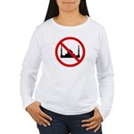 No Mosque Women's Long Sleeve T-Shirt
