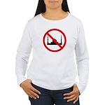No Mosque Women's Long Sleeve T-Shirt