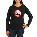 No Mosque Women's Long Sleeve Dark T-Shirt