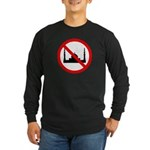 No Mosque Long Sleeve Dark T-Shirt