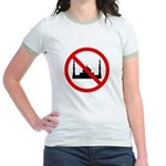 No Mosque Jr. Ringer T-Shirt