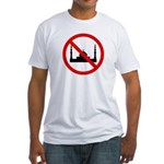 No Mosque Fitted T-Shirt