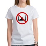 No Mosque Women's T-Shirt